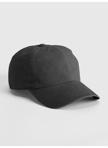 Gap Gap 440153 Arkası Ayarlanabilir Kayışlı Yıkamalı Kasketli Şapka Siyah